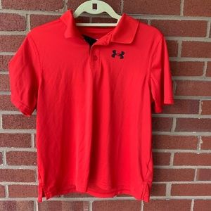 Under Armour Polo heatgear top youth XL